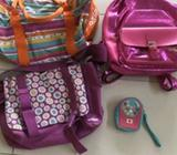 4x Smiggle bags