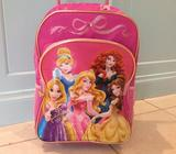 Disney Childrens's carry on bag, back pack, trolly case
