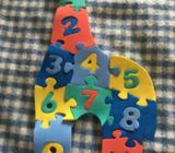 Giraffe number puzzle