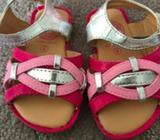 Girls Sandals, Size 4, Never Worn