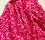 Pink capped sleeve baby gap dress size 4