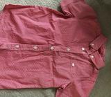 Milkshake red shorts sleeve shirt -size 6