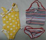 Girl Swimwear Toddler Kids Swim Bathers sz 5 6 Pumpkin Patch Set Cute