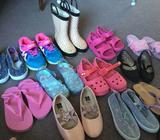 Girls Winter Summer clothes shoes Size 4 3yrs