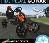 Kids Giant Pedal Powered Go Kart Outdoor Racing Ride Toy Bike
