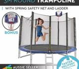 Trampoline Round Free Basketball Safety Net Spring Pad Cover