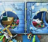 Ball Pit/ cubby house