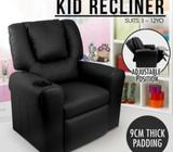 Luxury Kids Recliner Sofa Children Lounge Armchair Chair Couch