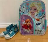 Frozen Backpack and Shoes
