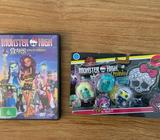 Monster High Mini Dolls and DVD