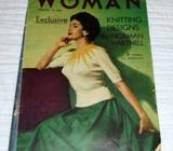 1950s Woman Magazine Glamour and the Woman's Budget Feb 15 1954