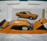 1-18 Ford 1973 XA Falcon RPO83 Sedan Yellow Fire Classic #18442