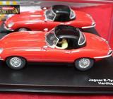 1-24 Carrera 20429 Exclusiv Jaguar E Type 1961 Hard top Red/Blk