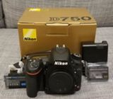 Nikon D750 Full-Frame DSLR Camera with AFS 24-120m
