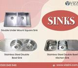 Single Bowl Kitchen Sinks in Sydney - Vizzini